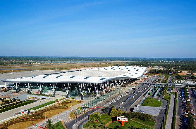 Bengaluru Int'l Airport.