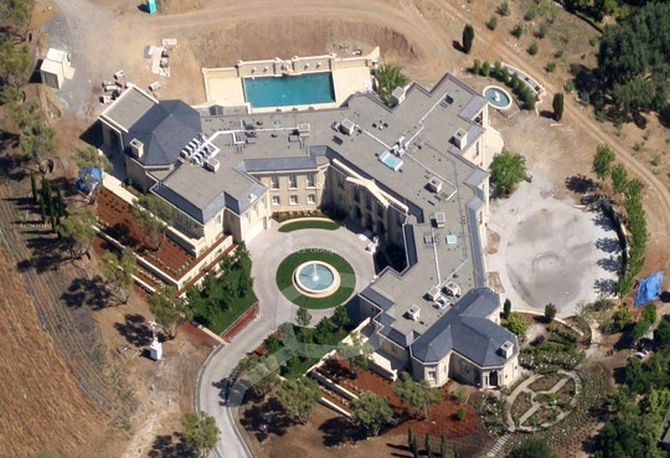 Silicon Valley Mansion.