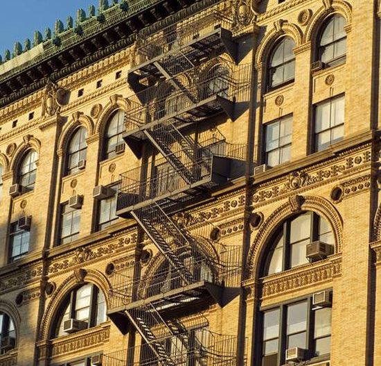 Anna Connelly invented the fire escape in 1887.