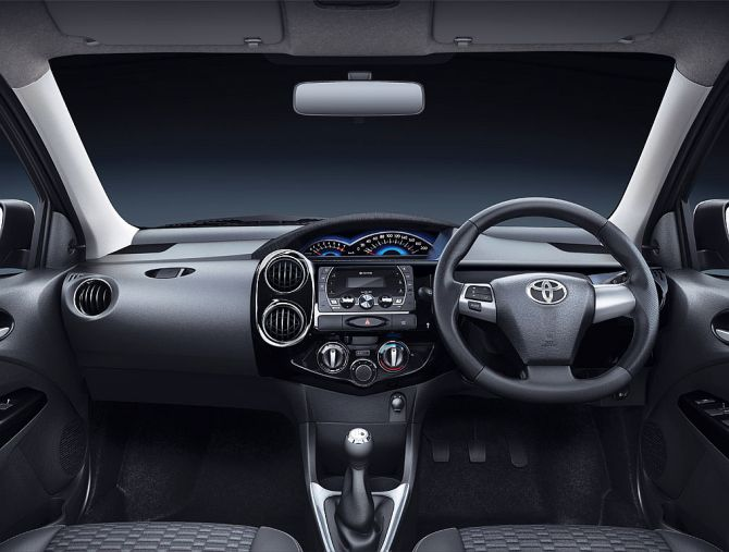 Etios Cross Interior.