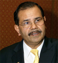 General Motors India vice president P Balendran.