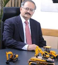 JCB India MD and CEO Vipin Sondhi.