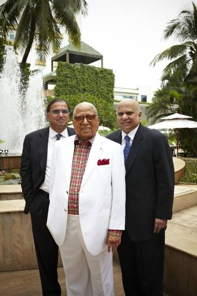 Capt. C.P Krishnan Nair-Chairman Emeritus & Founder Chairman, Vivek Nair-Chairman & MD and Dinesh Nair-Co-Chairman & MD.