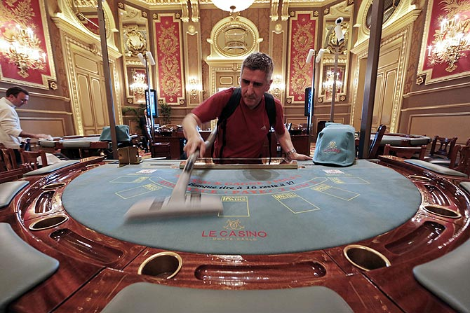 A rare look inside world's most spectacular gambling den