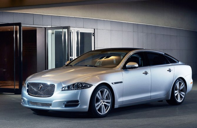 Jaguar Land Rover's XJ series.