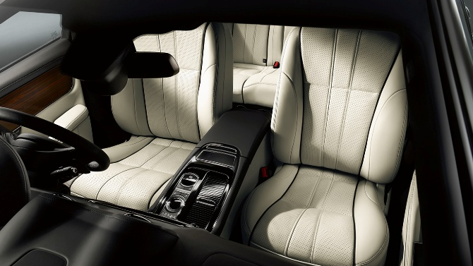 The vehicle comes with various luxury features, including rear seat comfort pack with three massage seat functions.