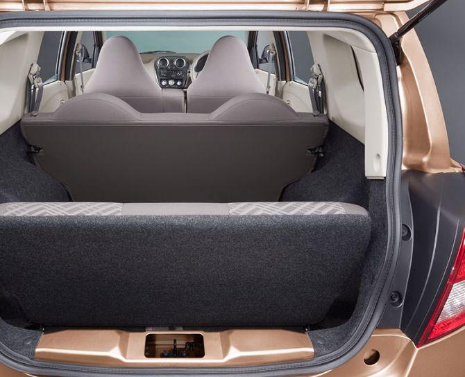 Datsun Go+ rear.