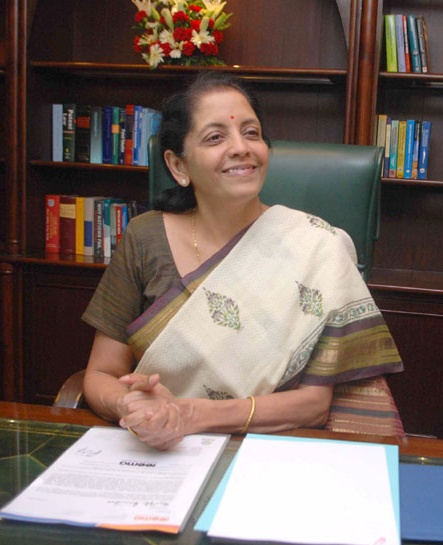 Union Commerce Minister Nirmala Sitharaman.