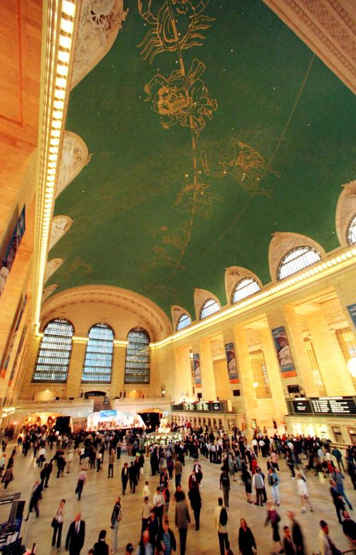 The Main Concourse in New York's famed Grand Central Station.