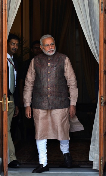 US media finds a new style icon in Modi