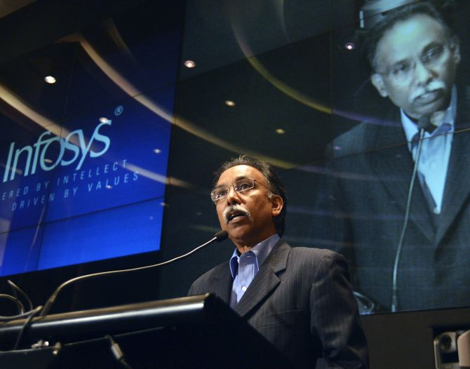 Infosys CEO & MD Shibulal.