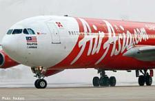 An AirAsia aircraft