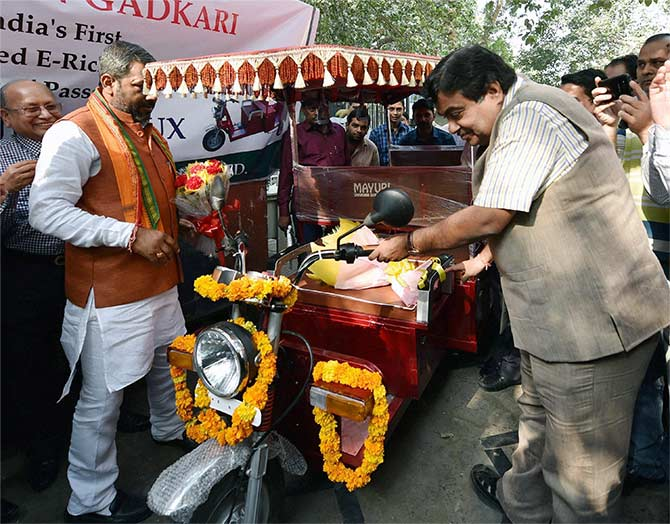 New e-rickshaws on the roads soon