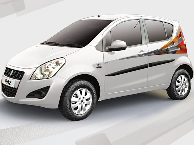 Maruti drives in limited edition Ritz Elate