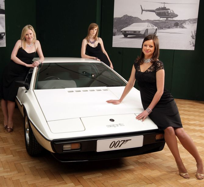 The best James Bond cars of all time - Rediff.com Business rediff.com670 × 616Search by image None of James Bond movies are complete without beautiful women, hi-tech gadgets and of course gorgeous four wheels. | The best James Bond cars of all time