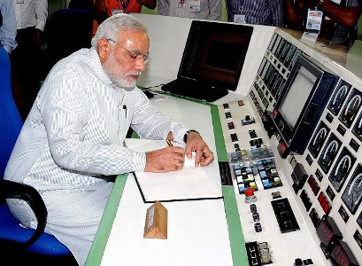 Prime Minister Narendra Modi at Barc