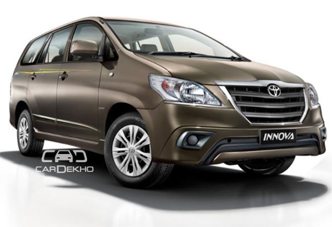 Toyota's festive bonanza: Innova LE for Rs 12.90 lakh