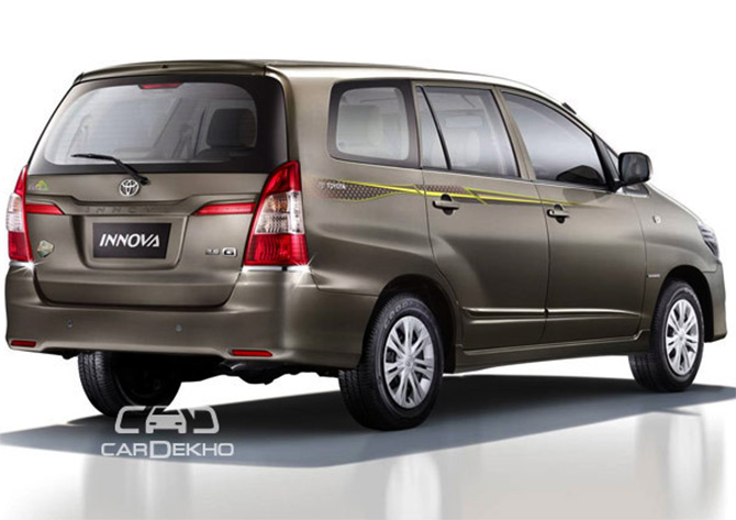 Toyota S Festive Bonanza Innova Le For Rs 12 90 Lakh