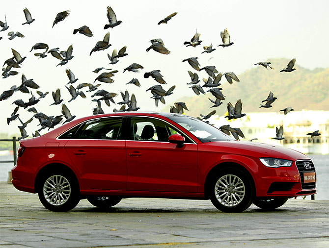 Audi A3 sedan - Maiden wagon in it's league!
