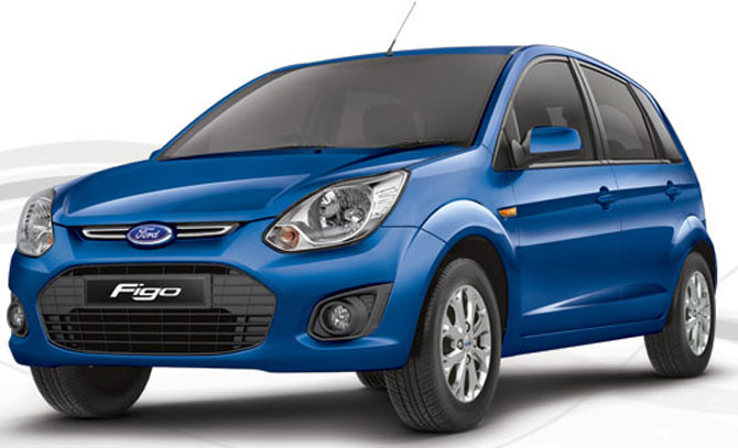 'Refreshed' Ford Figo launched @ Rs 3.87 lakh