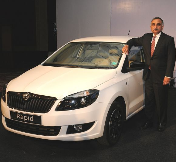 Skoda launches new Rapid at Rs 7.22 lakh