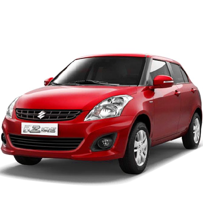 Maruti To Recall 69 555 Units Of Dzire  Swift And Ritz