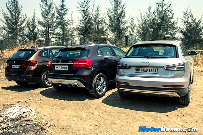The Freshly Brewed Mercedes Gla On Other Hand Is Best Looking Suv Here With Its Bold Eal And Pleasing Cabin But Still Does Not Offer Right