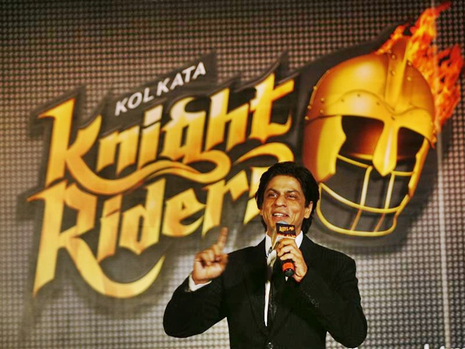 Actor Shah Rukh Khan owns three teams -- Kolkata Knght Riders in IPL, Trinbago Knight Riders in the Caribbean, now owns Cape Town Knight Riders in South Africa