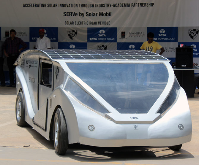 Serve An Amazing Solar Car Designed By Indian Students