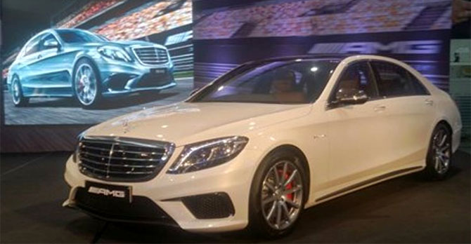 Mercedes Benz brings sportier S63 AMG sedan to India