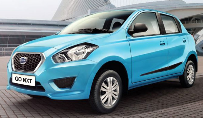 Datsun launches Rs 4.1 lakh GO-NXT