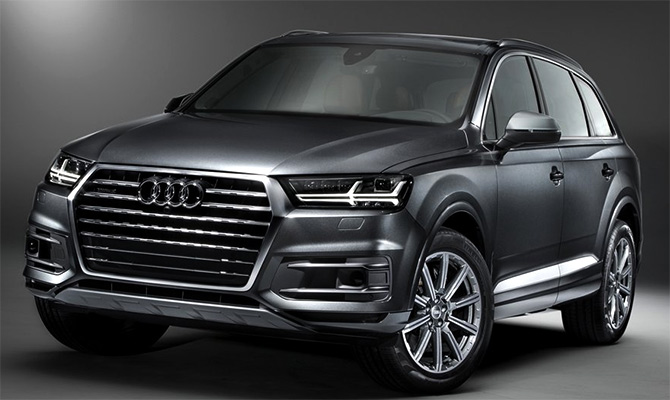 Audi's new Q7 SUV @ Rs 77.5 lakh