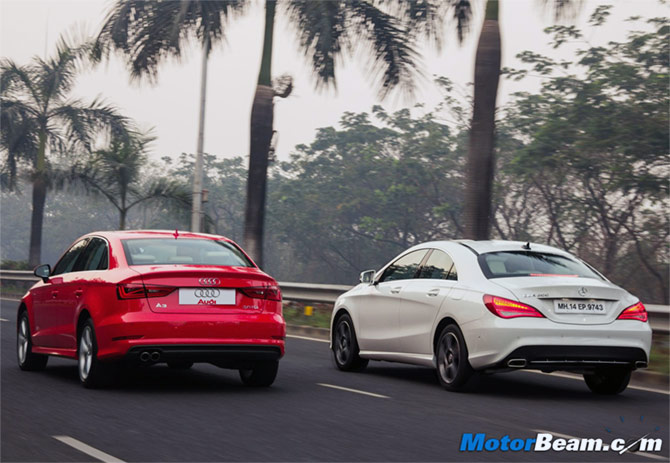mercedes cla vs audi a3: which one should you buy? - rediff