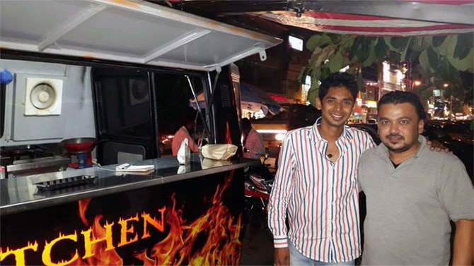 Sawkar And His Partner Pratika Binani Are In The Process Of Opening A Bistro But They Also Planning To Expand Their Food Truck Business By Giving Out