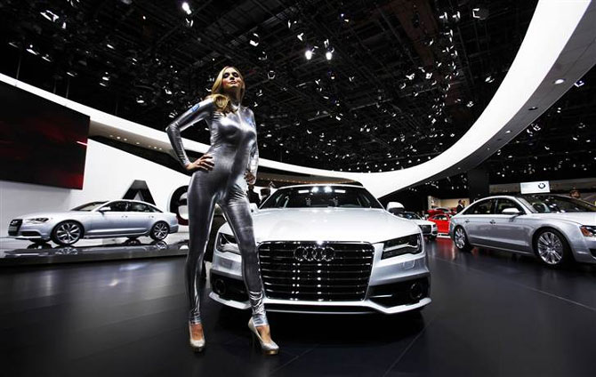 Audis A Drives Itself From San Francisco To CES In Las Vegas - Audi las vegas