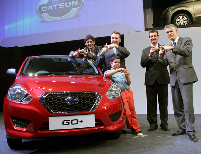 Nissan launches Datsun Go+ at Rs 3.79 lakh