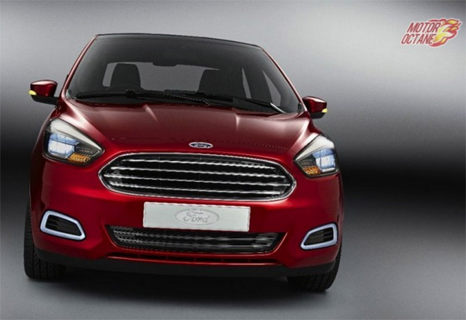 A peek into the New Ford Figo Hatchback