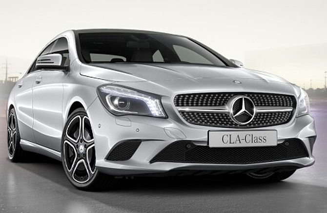 Mercedes launches CLA Class sedan at Rs 31.5 lakh
