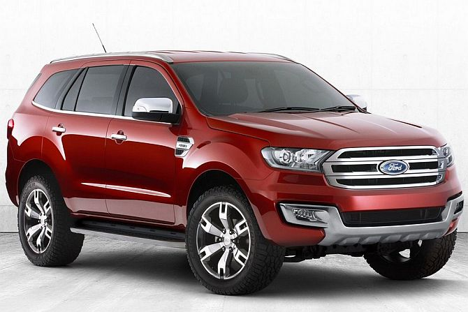 Image Ford Endeavour Is Scheduled To Be Launched In February 2015