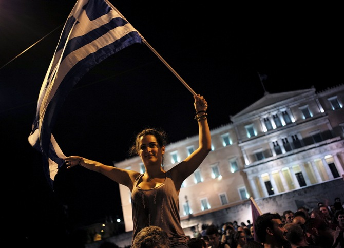 Greek assets sell off after 'No' vote