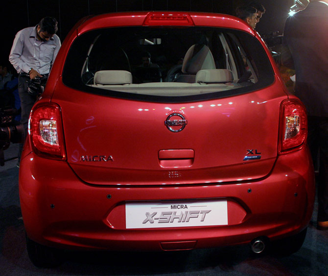nissan launches limited edition micra x shift at rs 6 4 lakh business. Black Bedroom Furniture Sets. Home Design Ideas