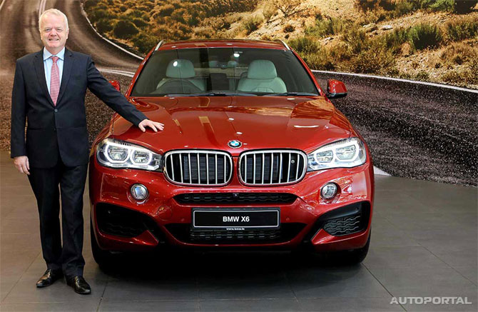 BMW launches X6 Sports Activity Coupe at Rs 1.15 cr