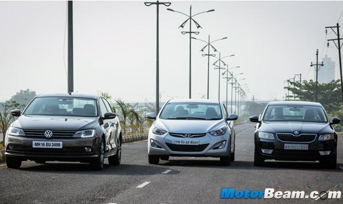 Car compare: Hyundai Elantra, Volkswagen Jetta and Skoda Octavia