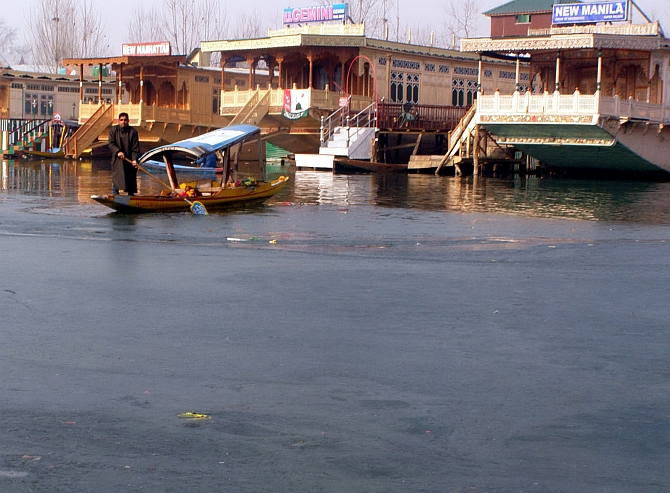 The Dal Lake, Kashmir