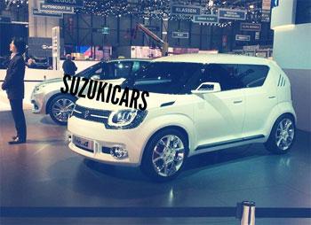 Suzuki iM-4 mini SUV concept leaked