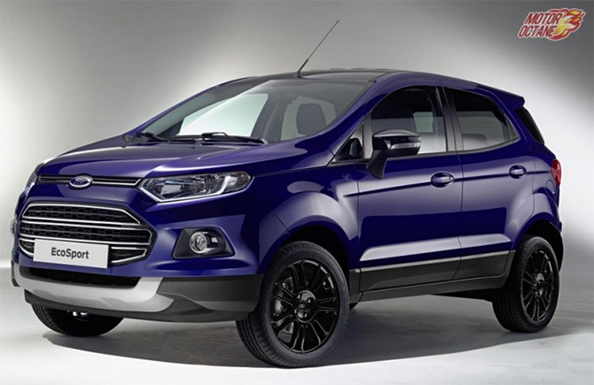 Check out the stylish and spacious Ford EcoSport S!
