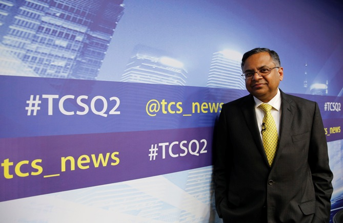 TCS CEO N Chandrasekharan