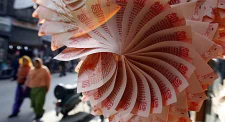 Rupee jumps 25 paise against US dollar