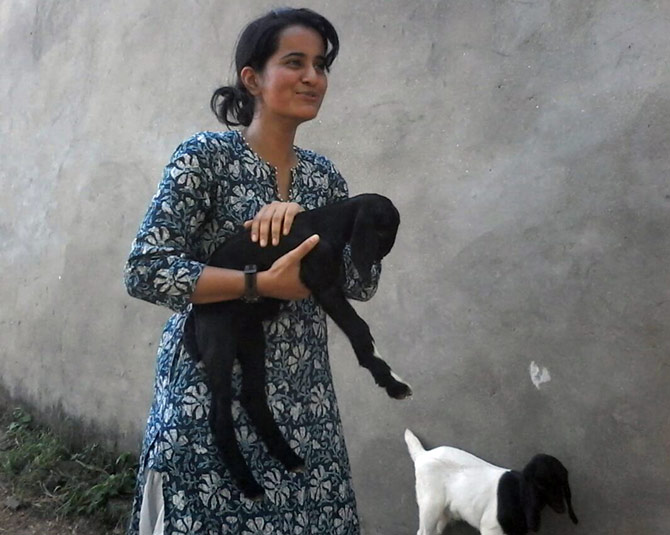 Nupur Ghuliani gave up a lucrative career to work in rural India