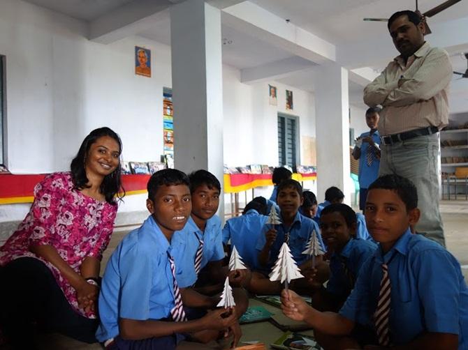 Shalini Krishnan quit a high-paying job to teach tribal students